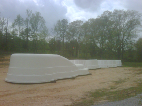 Southeastern Fiberglass Pool Depot Yard Is Off And Going