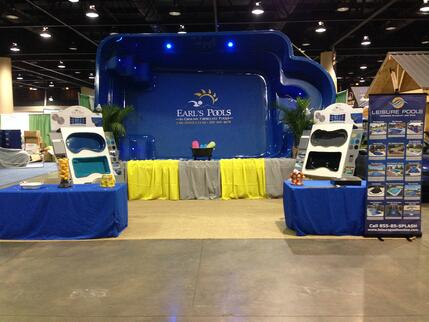 Earl 39 s pools of al great blog for pool spa consumers for Pool and garden show